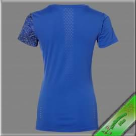 Asics női rövid ujjú póló /kék-lila/ /LITE-SHOW/