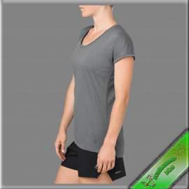 Asics női rövid ujjú póló szürke