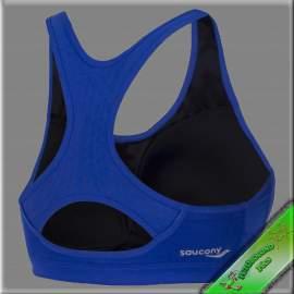 Saucony melltartó-top kosaras Athlete Avenger kék