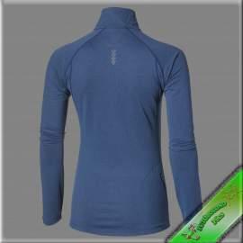 Asics téli felső 1/2 zip női kék