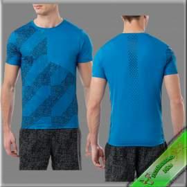 Asics férfi rövid ujjú póló /kék/ /LITE-SHOW/