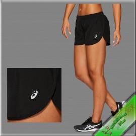 Asics női rövidnadrág kerekített szárú fekete