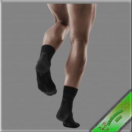 CEP kompressziós rövidszárú  futózokni férfi fekete