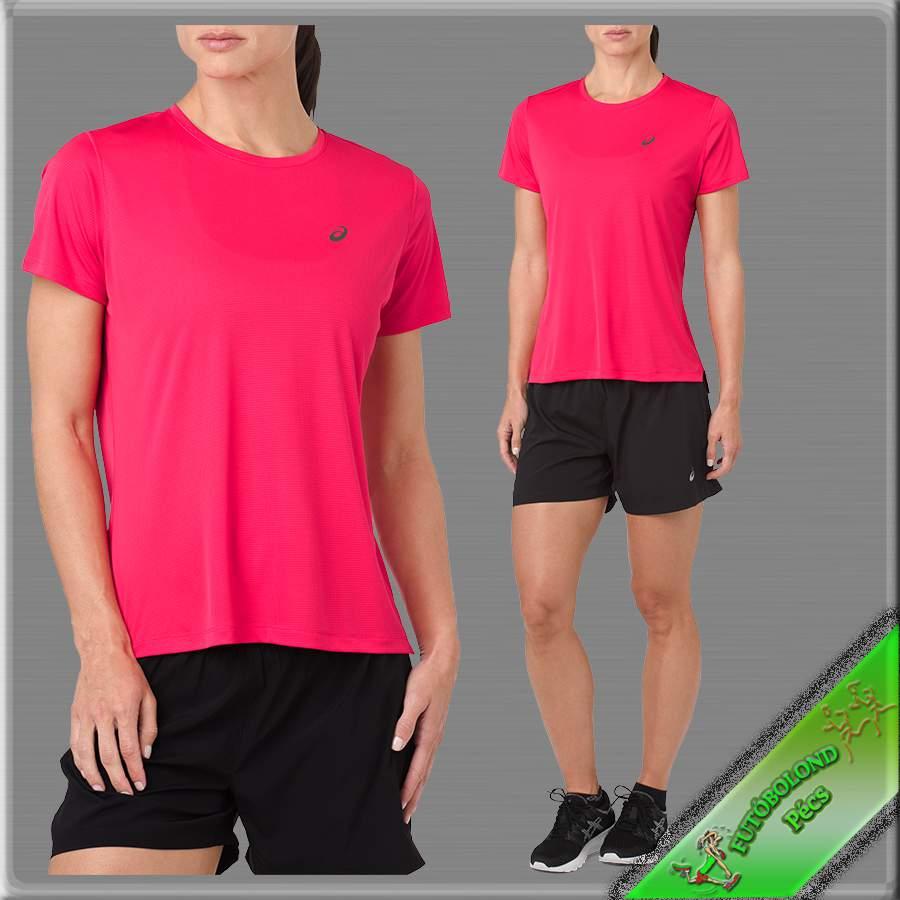 "Asics női rövid ujjú póló /pixel-pink/ ""SILVER SS TOP"""