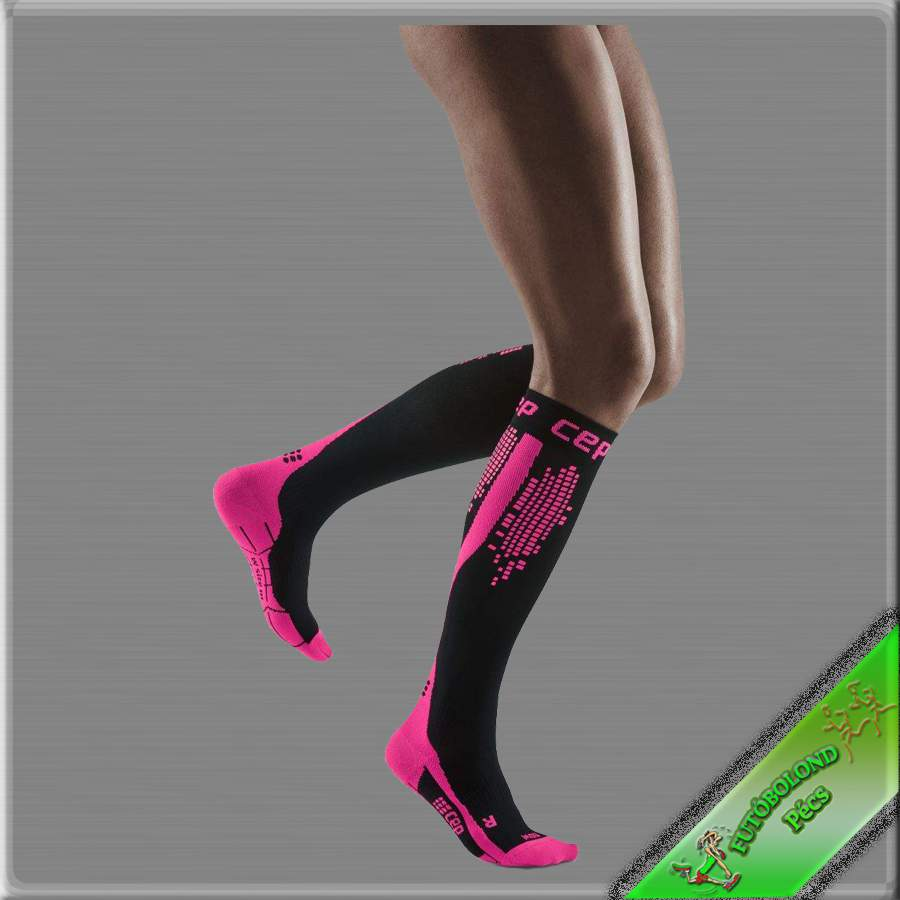 CEP kompressziós futózokni női pink /nighttech/